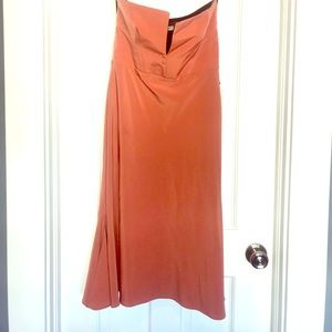 New w/tags Topshop strapless dress